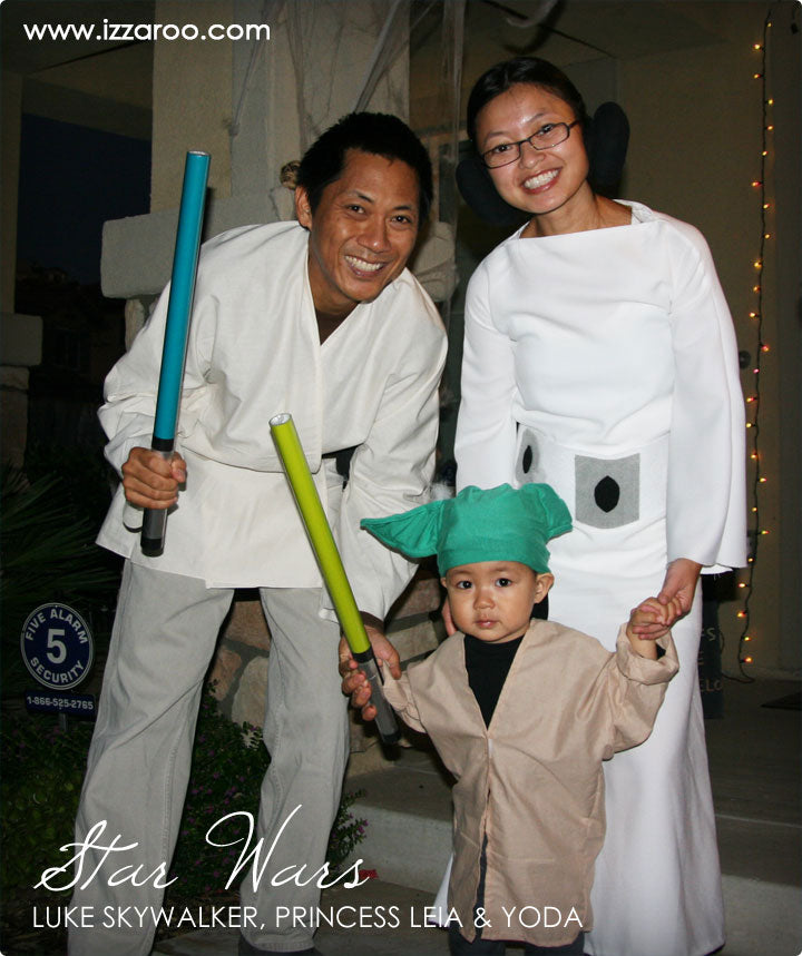 Halloween 2012 - DIY Tutorials - Star Wars Theme Family Halloween Costumes