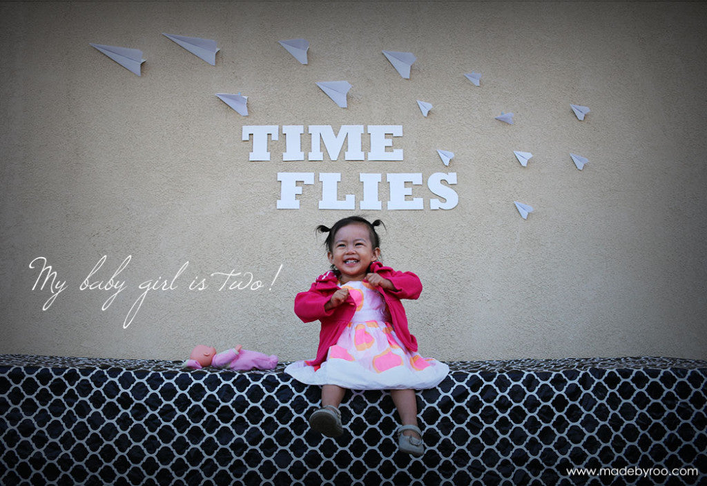 """Time Flies"" Themed Birthday Party Ideas"