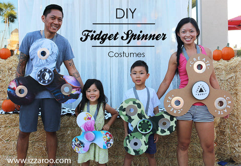 IZZAROO - DIY Fidget Spinner Themed Family Halloween Costumes