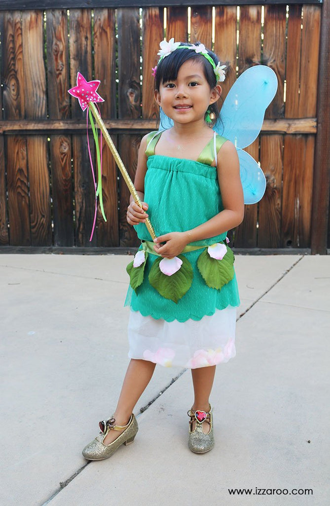 IZZAROO - DIY Tutorial - Fairy Halloween Costume