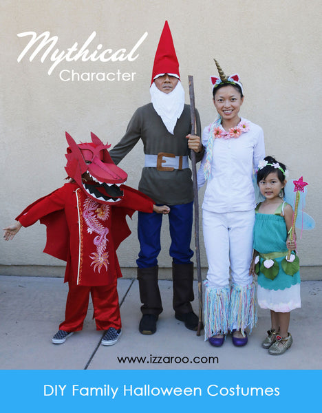 Mythical Character Halloween Costumes