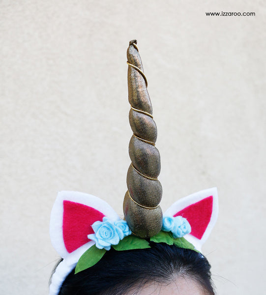 IZZAROO - DIY Tutorial - Unicorn Halloween Costume