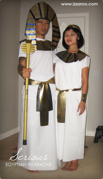 IZZAROO - DIY Egyptian Pharaohs Themed Halloween Costumes Tutorials