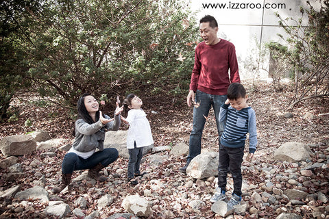 IZZAROO - Fun ideas on how to play with kids outside in any kind of weather