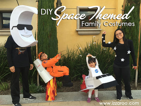 IZZAROO - DIY Family Space Themed Halloween Costumes