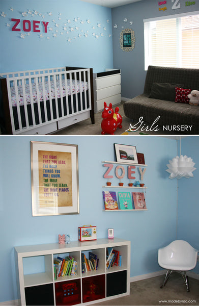 IZZAROO - Boys' and Girls' Nursery Room Ideas