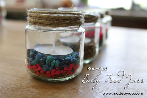 IZZAROO - DIY Recycled Glass Jars