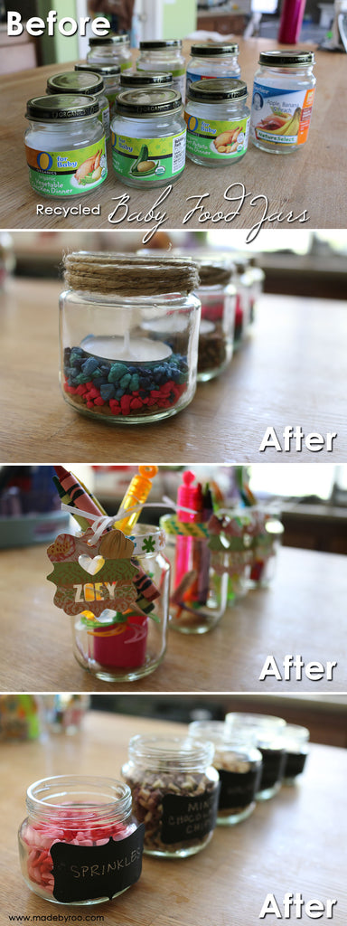 IZZAROO - DIY Tutorial - Fun ways to recycle glass jars