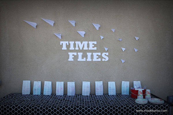 IZZAROO - Time Flies Themed Birthday Party Ideas