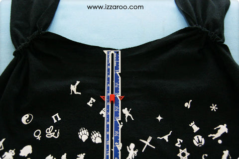 IZZAROO - Turn a T-Shirt into a Tank Top