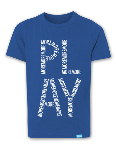 Play More - Royal Blue - Boy's T-Shirt
