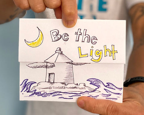 Surprise & Delight Card - Be The Light
