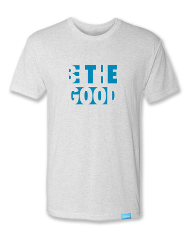 Be The Good - Heather White - Men's T-Shirt