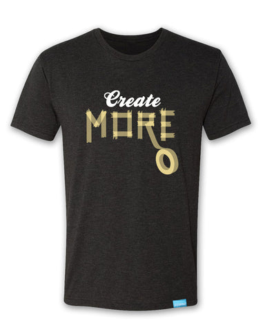 Create More - Vintage Black - Men's T-Shirt