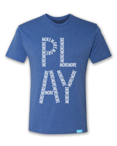 Play More - Royal - Men's T-Shirt