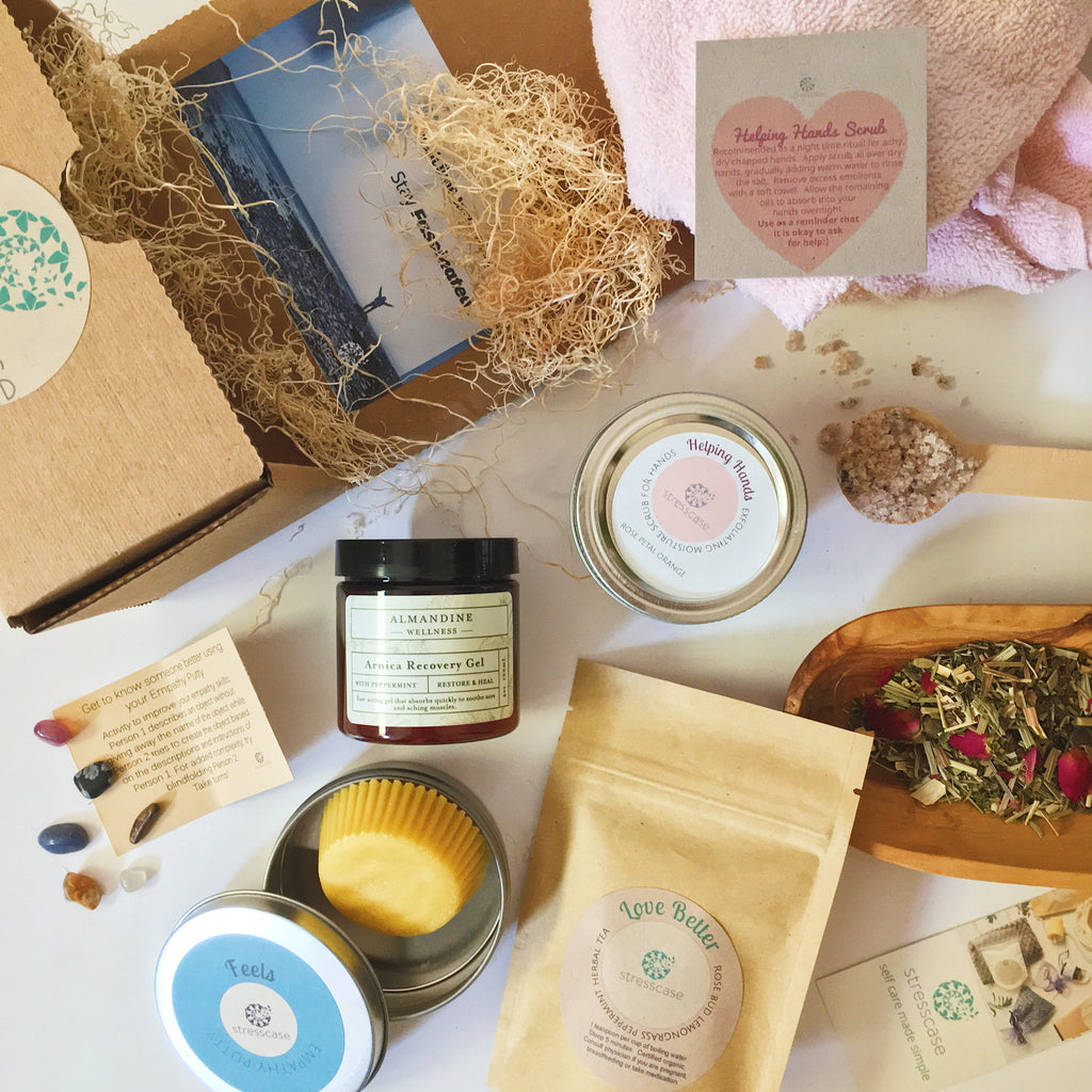 Quarterly Seasonal Self-care Kit Subscription | Stresscase