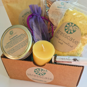 Strength Handmade Self-Care Kit | Stresscase