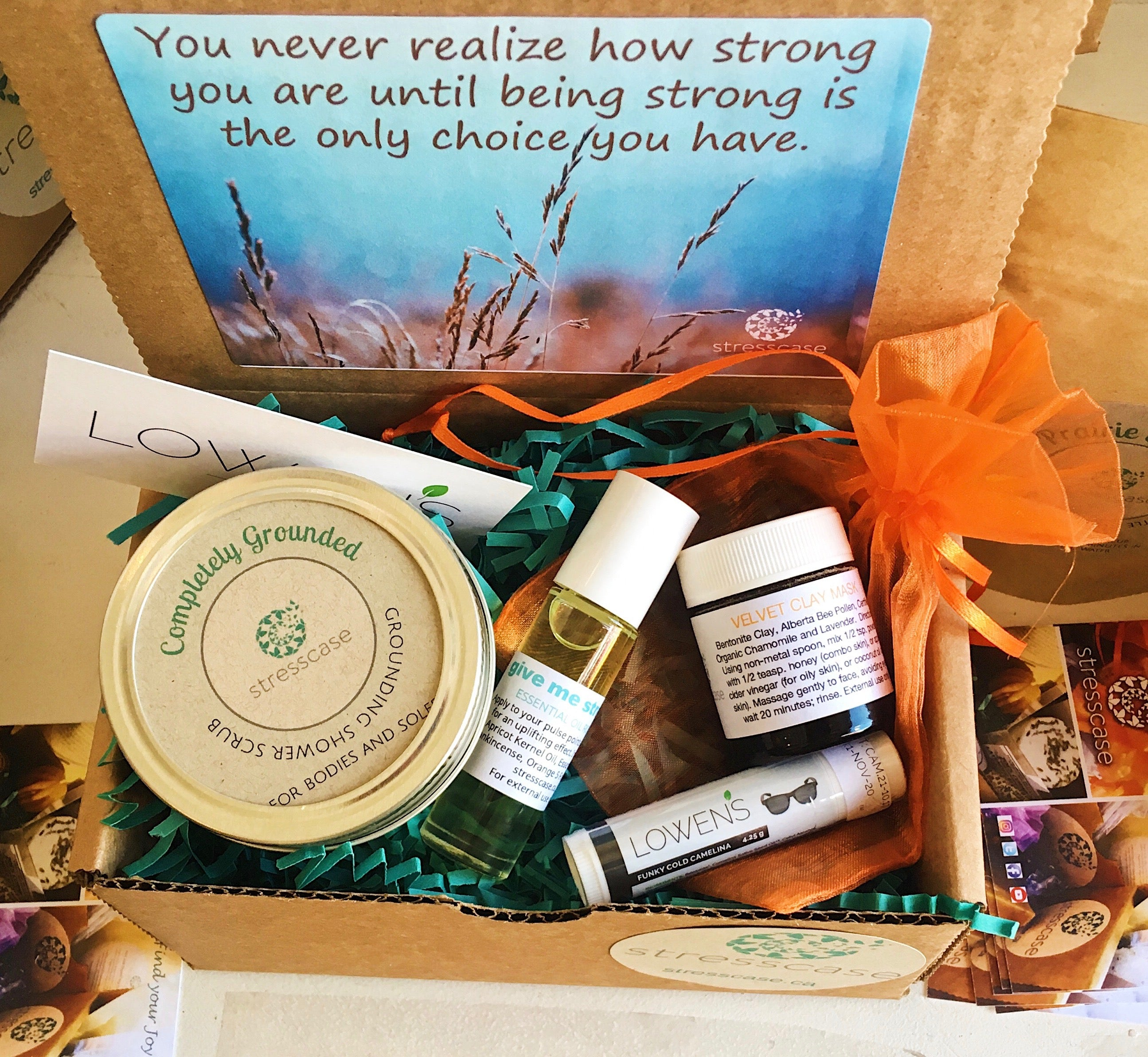 Prairie Strong Self-Care Kit | Stresscase