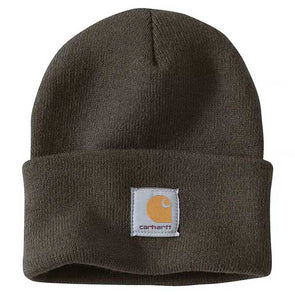Carhartt Arcylic Watch A18 Beanie Dark Green