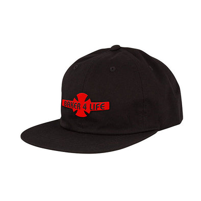 Independent Baker 4 Life Strapback Black