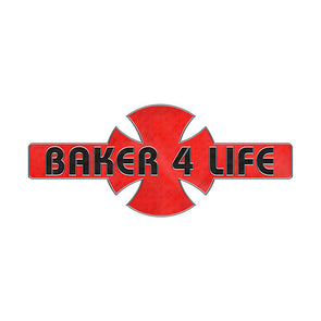 Independent Baker 4 Life Pin Red/Black