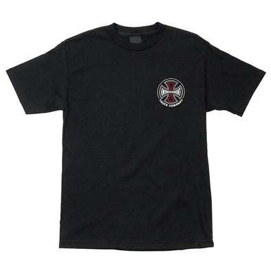 Independent Converge Regular S/S T-Shirt Black