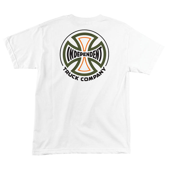 Independent Converge Regular S/S T-Shirt White