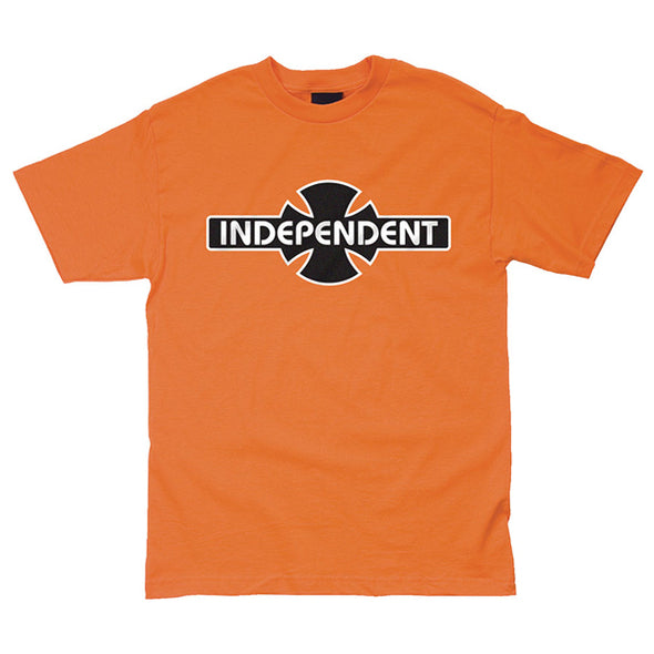 Independent O.G.B.C. Regular S/S T-Shirt Orange