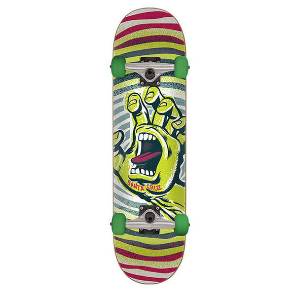 Santa Cruz Off Hand Complete Skateboard Green 7.75