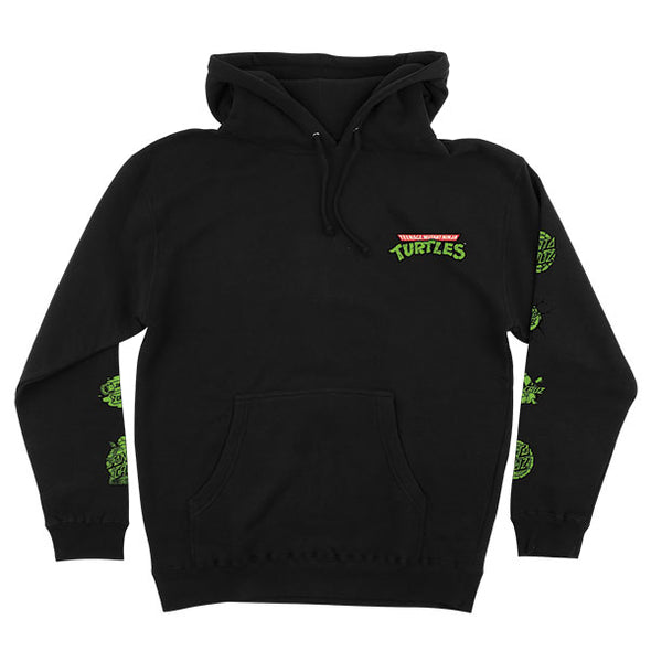 Santa Cruz TMNT Mutagen Pullover Hooded Sweatshirt Black