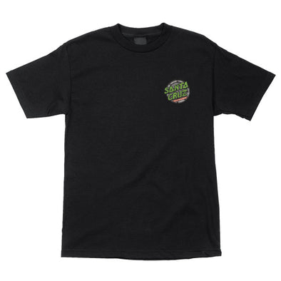 Santa Cruz TMNT Ninja Turtles S/S T-Shirt Black