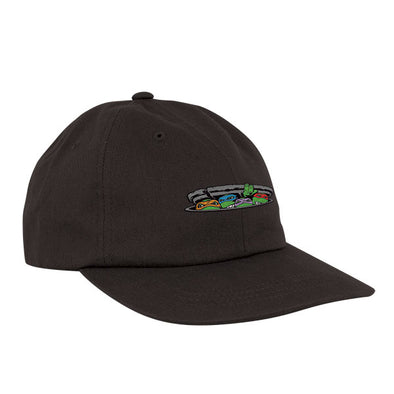 Santa Cruz TMNT Ninja Turtles Dad Hat Black