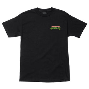 Santa Cruz TMNT Pizza Dot S/S T-Shirt Black