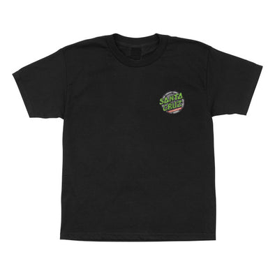 Santa Cruz Youth TMNT Ninja Turtles S/S T-Shirt Black