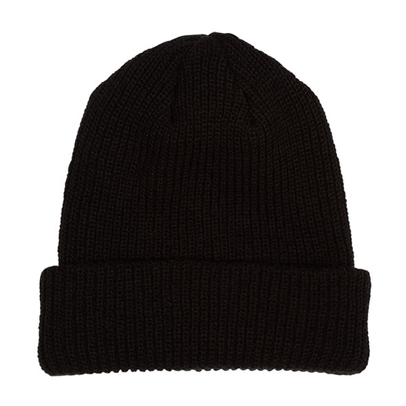 Santa Cruz Missing Dot Long Shoreman Beanie Black