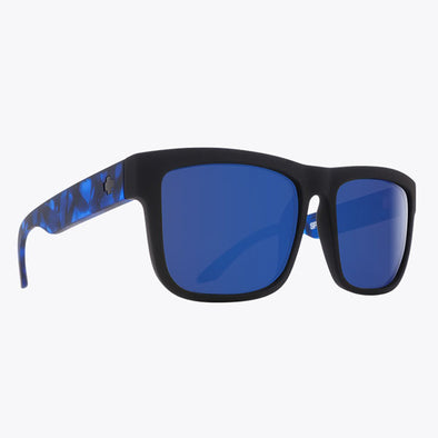 Spy Optic Discord Soft Matte Black with Navy Tort/Happy Gray Green with Dark Blue Spectra (673119845503)