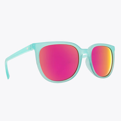 Spy Optic Fizz Translucent Seafoam/Gray with Pink Spectra (673514082810)
