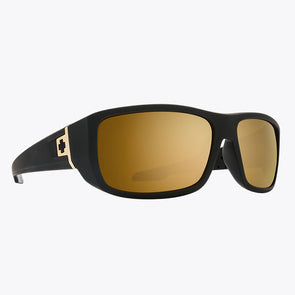 Spy Optic MC3 25th Anniversary Matte Black Gold/HD Plus Bronze with Gold Spectra Mirror (6700000000028)