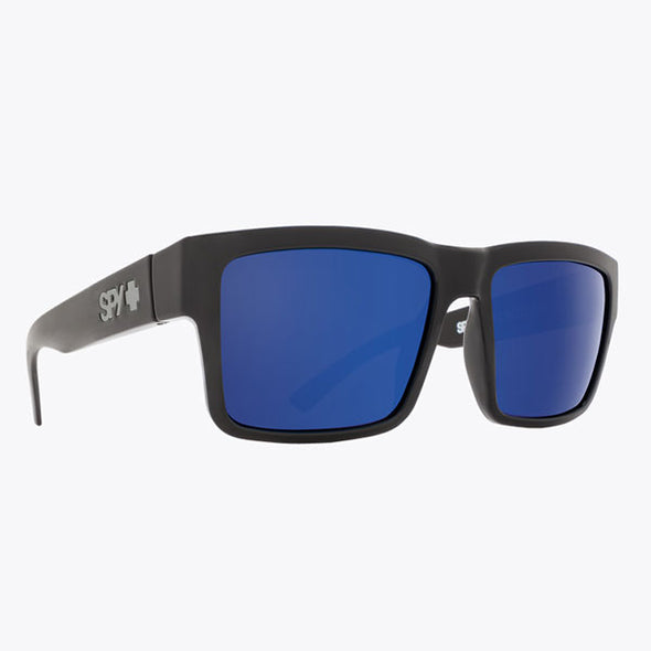 Spy Optic Montana Black/HD Plus Gray Green Polar with Dark Blue Spectra Mirror (673407038486)