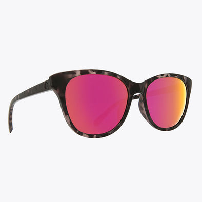 Spy Optic Spritzer Black Tortoise/Gray with Pink Spectra (673515332810)