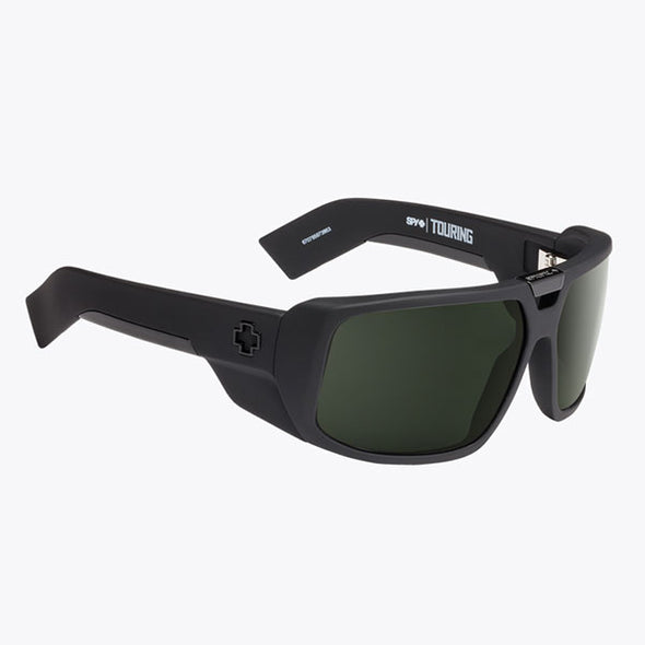 Spy Optic Touring Soft Matte Black/Happy Gray Green (670795973863)