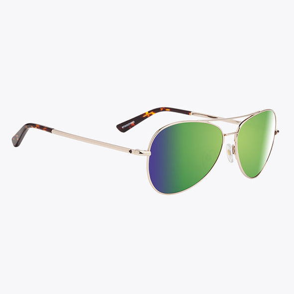 Spy Optic Whistler Gold/Happy Bronze with Green Spectra (673424274225)