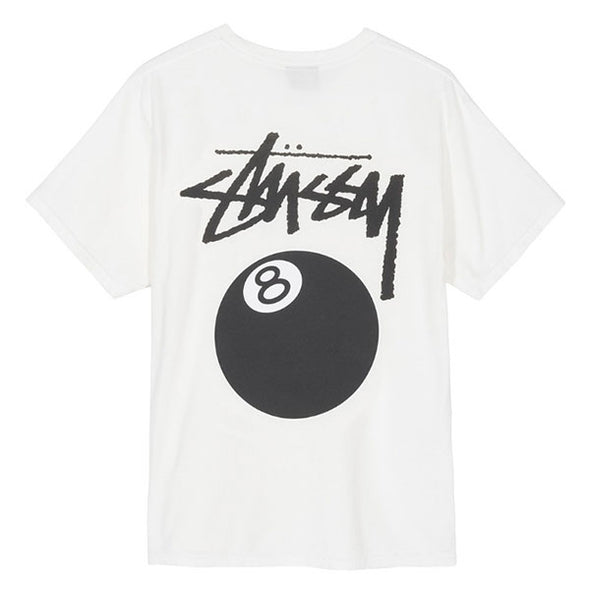 Stussy 8 Ball Pigment Dyed Tee Natural