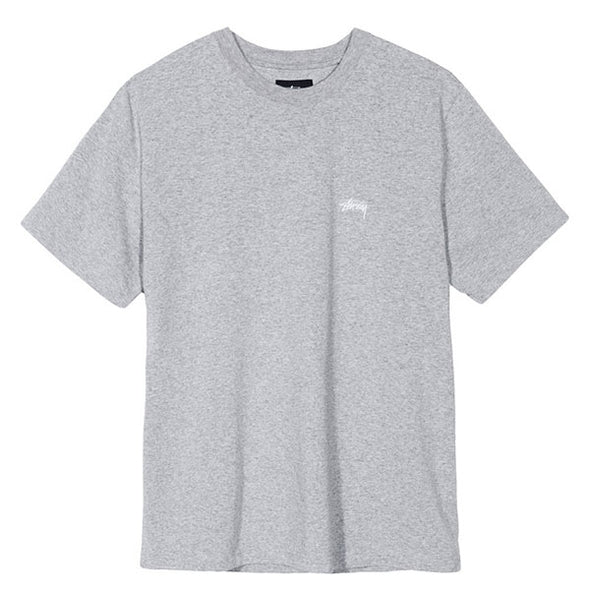 Stussy SS Crew Grey Heather