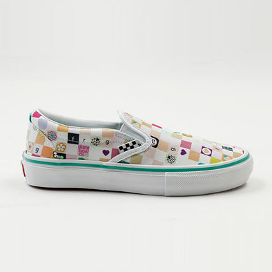 Vans x Frog Skateboards Slip-On LTD White/White