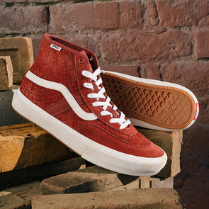Vans x NJ Crockett High Pro Brick/White