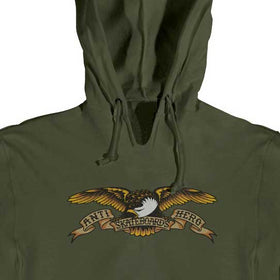 Anti Hero Eagle Hoodie Army