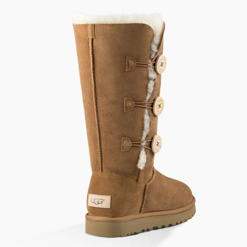 UGG Women's Bailey Button Trip (1016227) Chestnut - Xtreme Boardshop