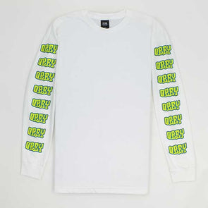 Obey Better Days L/S White - Xtreme Boardshop