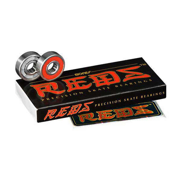 Bones REDS Bearings (Set of 8) - Xtreme Boardshop